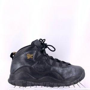 Nike Air Jordan 10 Retro NYC Kids Size 7y